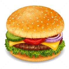 Hamburger png image mac. Burger clipart border