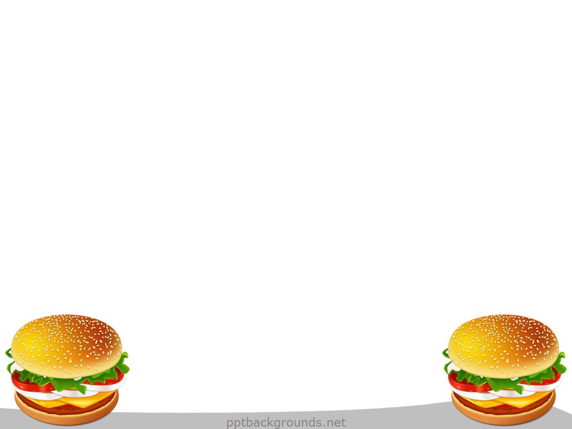 Free hamburger backgrounds for. Burger clipart border