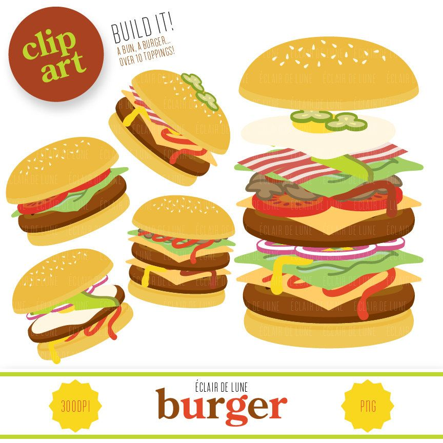 burger clipart buger