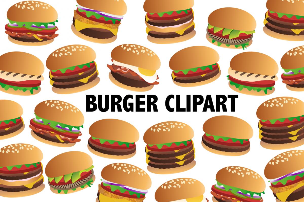 . Cheeseburger clipart mini burger