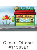 Joint royalty free rf. Burger clipart building