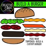 Build a worksheets teaching. Burger clipart building