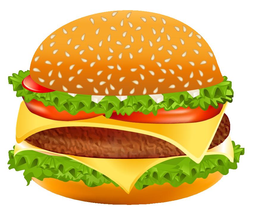 Mcdonald s hamburger cheeseburger. Burger clipart burger mcdonalds