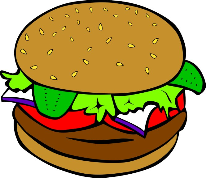 Burger clipart cartoon. Png the best in