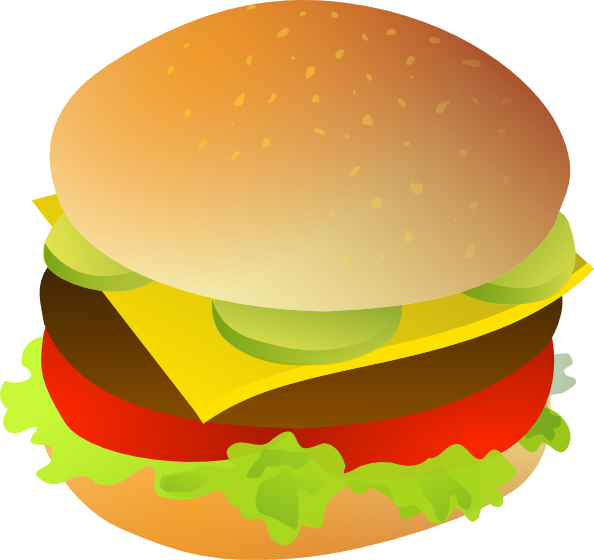 Cheese burger clip art. Cheeseburger clipart cartoon