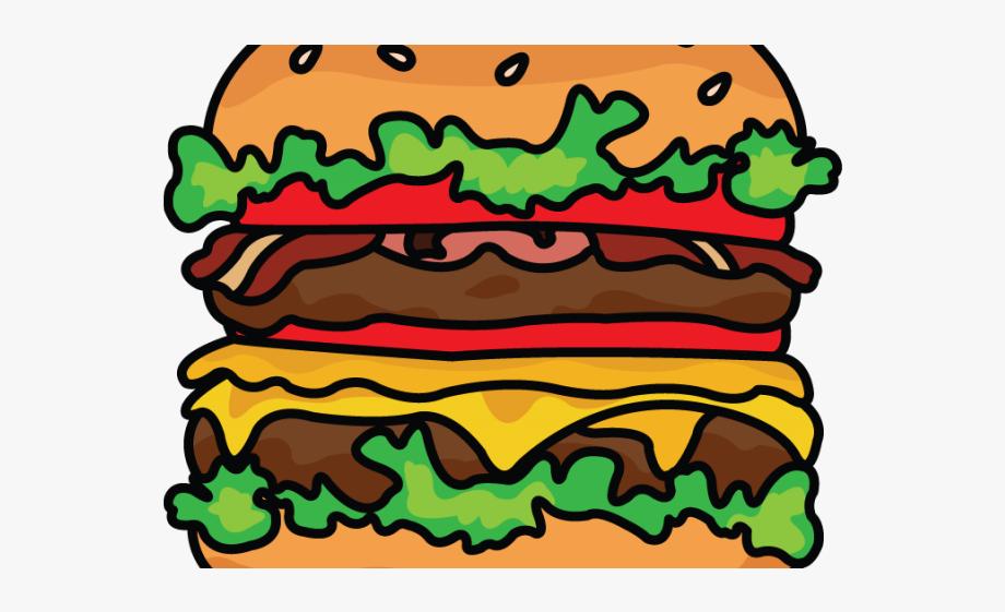 Buger drawing png transparent. Burger clipart cartoon