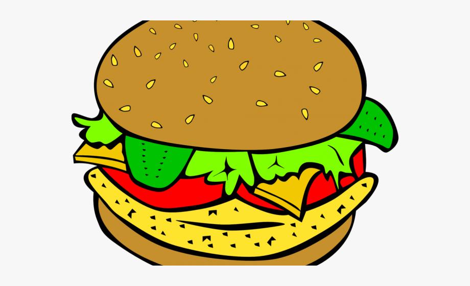 Italy clipart diner food. Veggie burger clip art