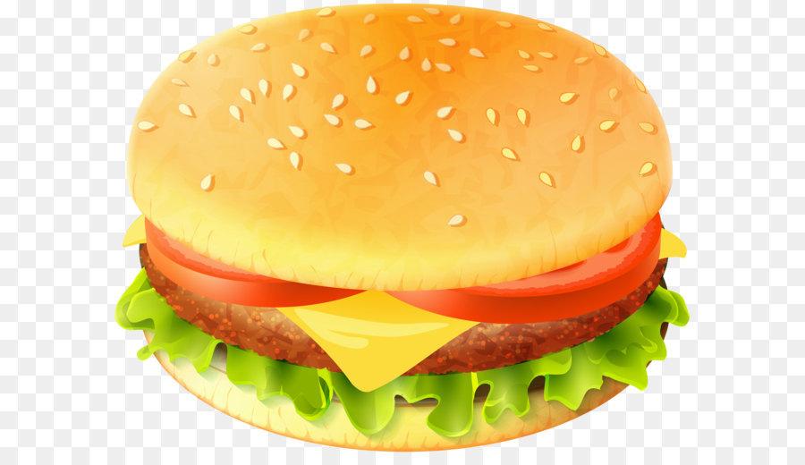 Hamburger whopper fast food. Burger clipart cheeseburger