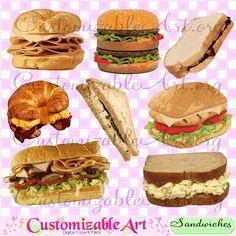 Digital fried clip art. Burger clipart chicken meat