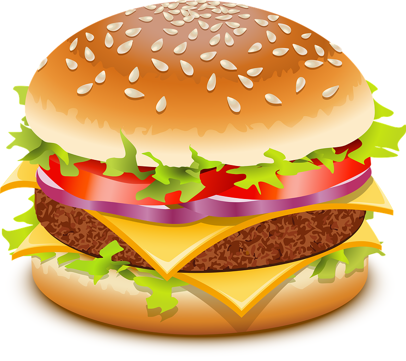 Free photo barbecue hamburger. Burger clipart chicken meat