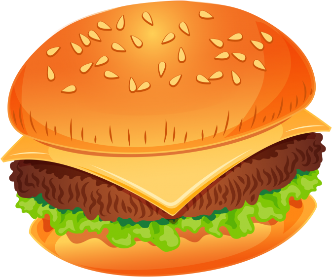 Burger clipart clear background. Hd transparent png
