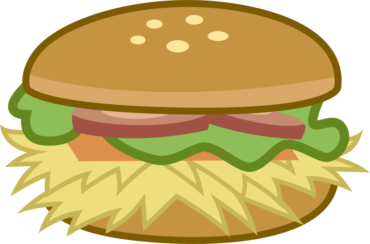 artist drakizora food. Burger clipart clear background