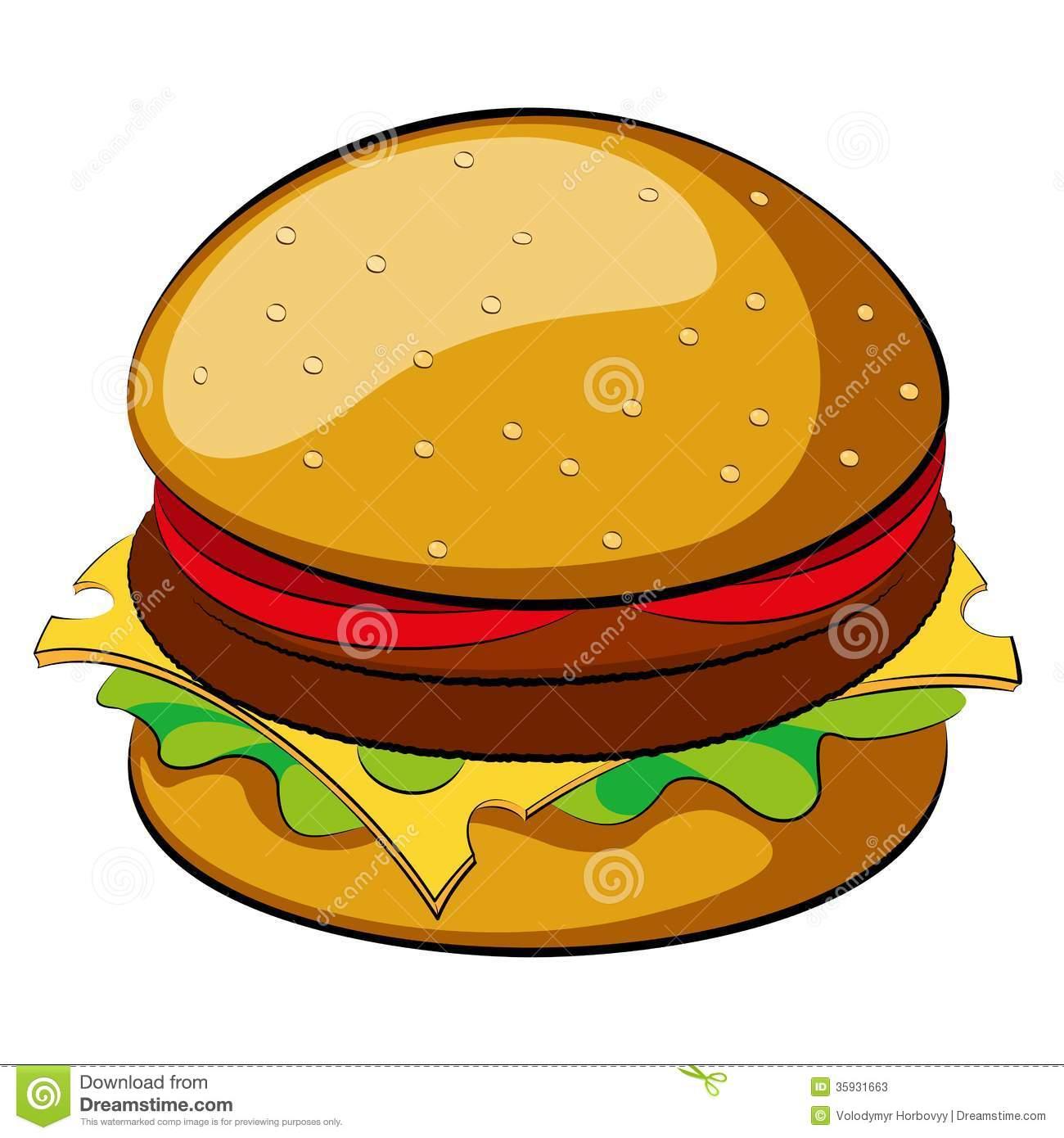 Clip art jpg clipartix. Burger clipart clear background
