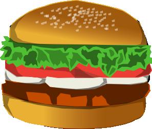 Burger clipart clip art. At clker com vector