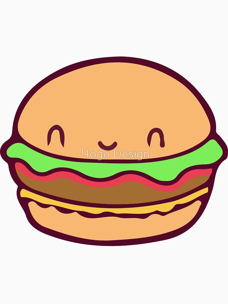 Burger clipart cute. Clipartuse