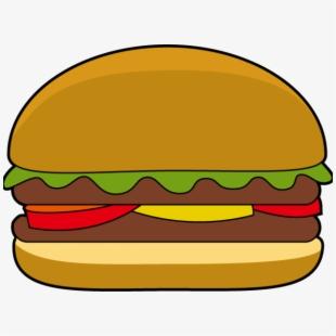 Hamburgers hamburger free . Burger clipart easy