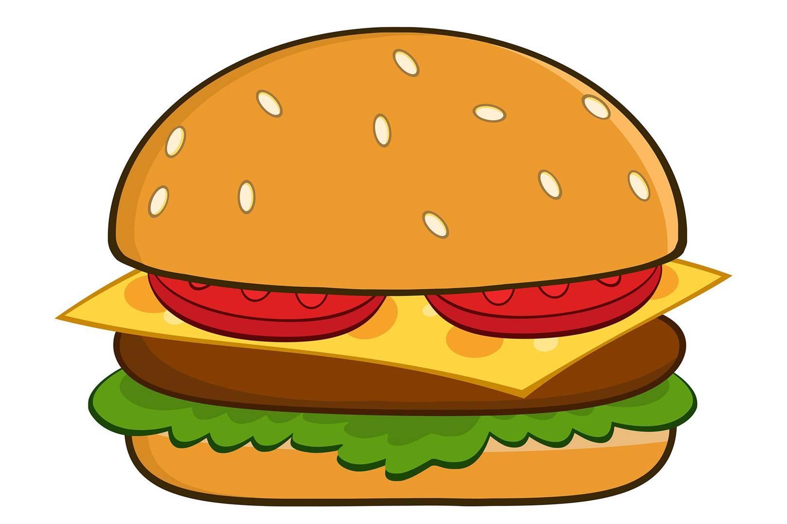 Burgerburger how to order. Burger clipart emoji