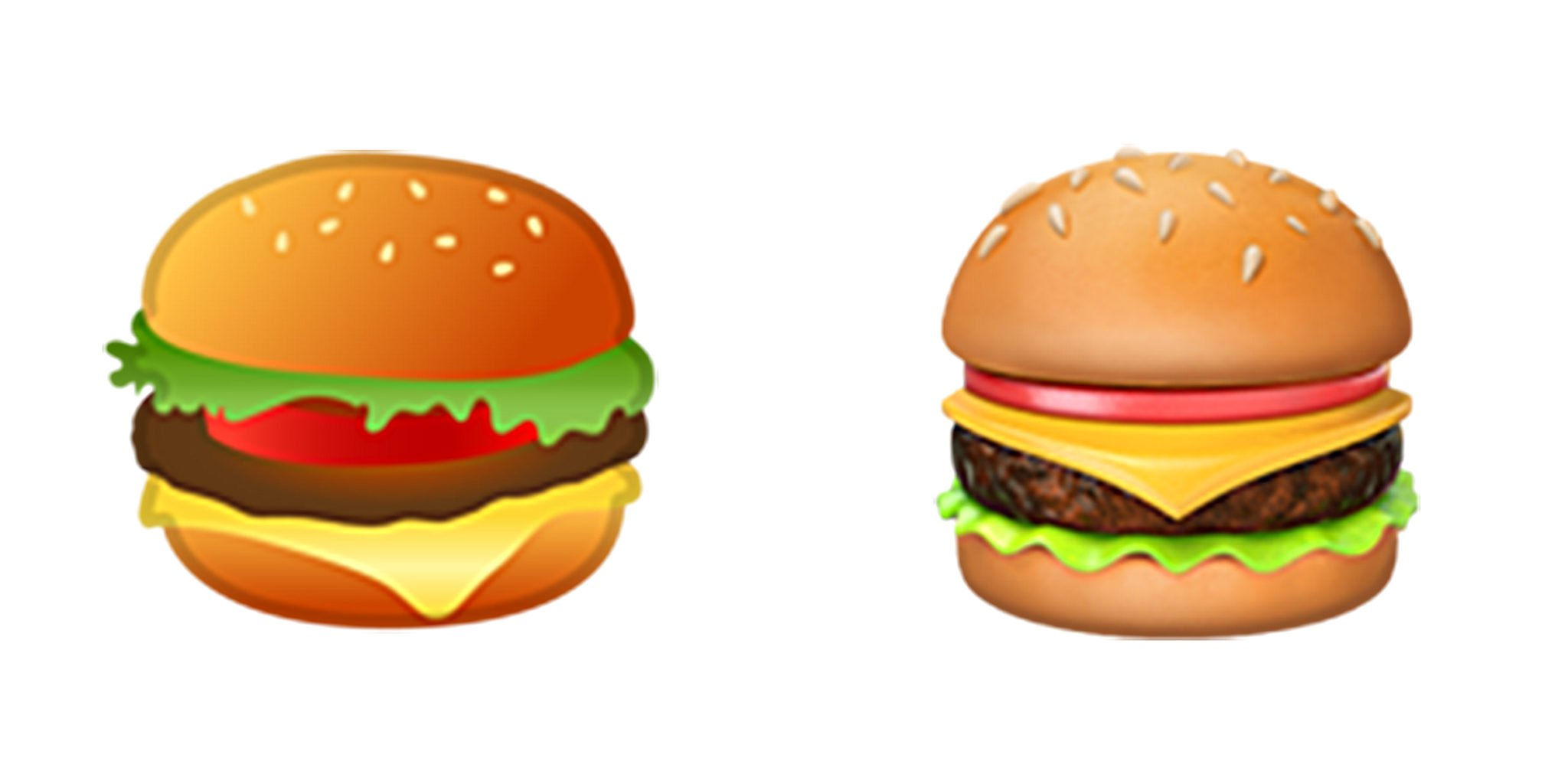 Burger clipart emoji. Forget smartphones apple and