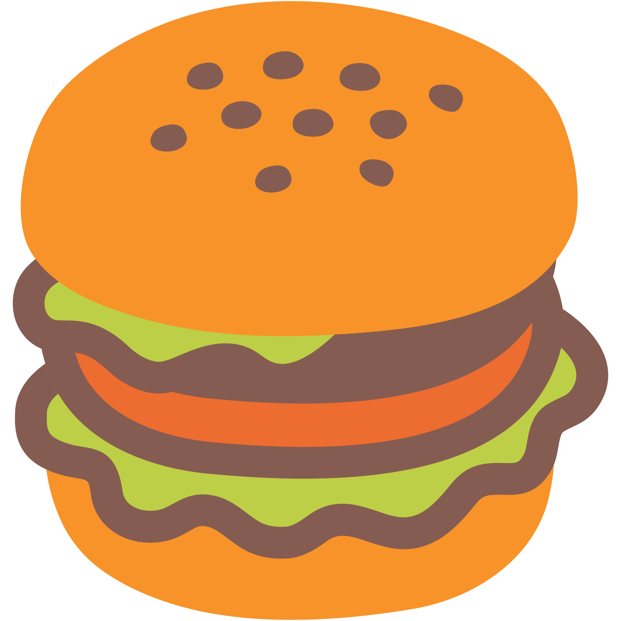 Burger clipart emoji. File u f svg