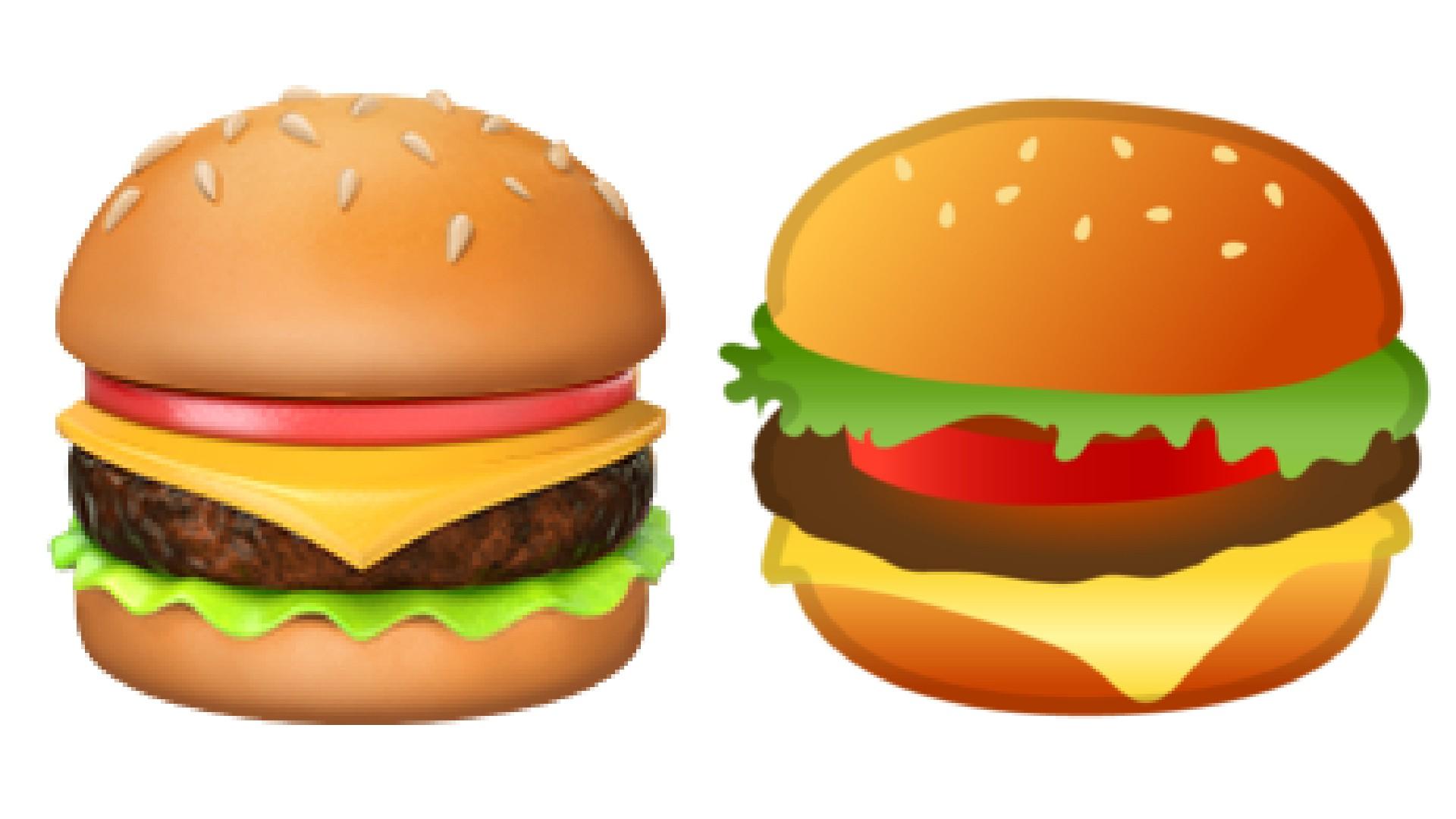 Burger clipart emoji. Google ceo ready to