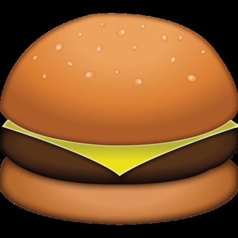 Burger clipart emoji. Download cheese icon island