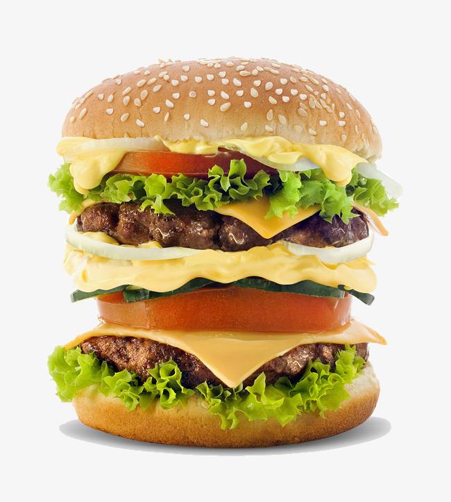 Multilayer big mac salad. Burger clipart eye