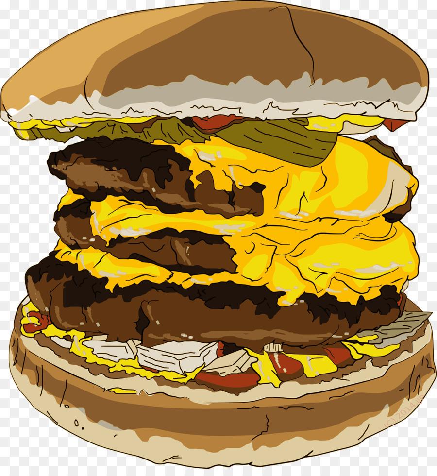 Burger clipart eye. Hamburger cheeseburger fast food