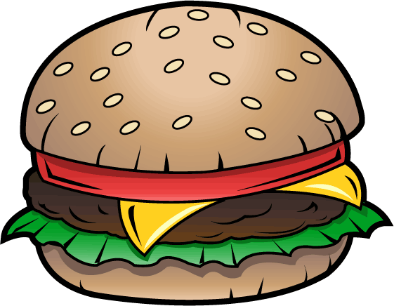 Burger clipart eye. Clip art look at