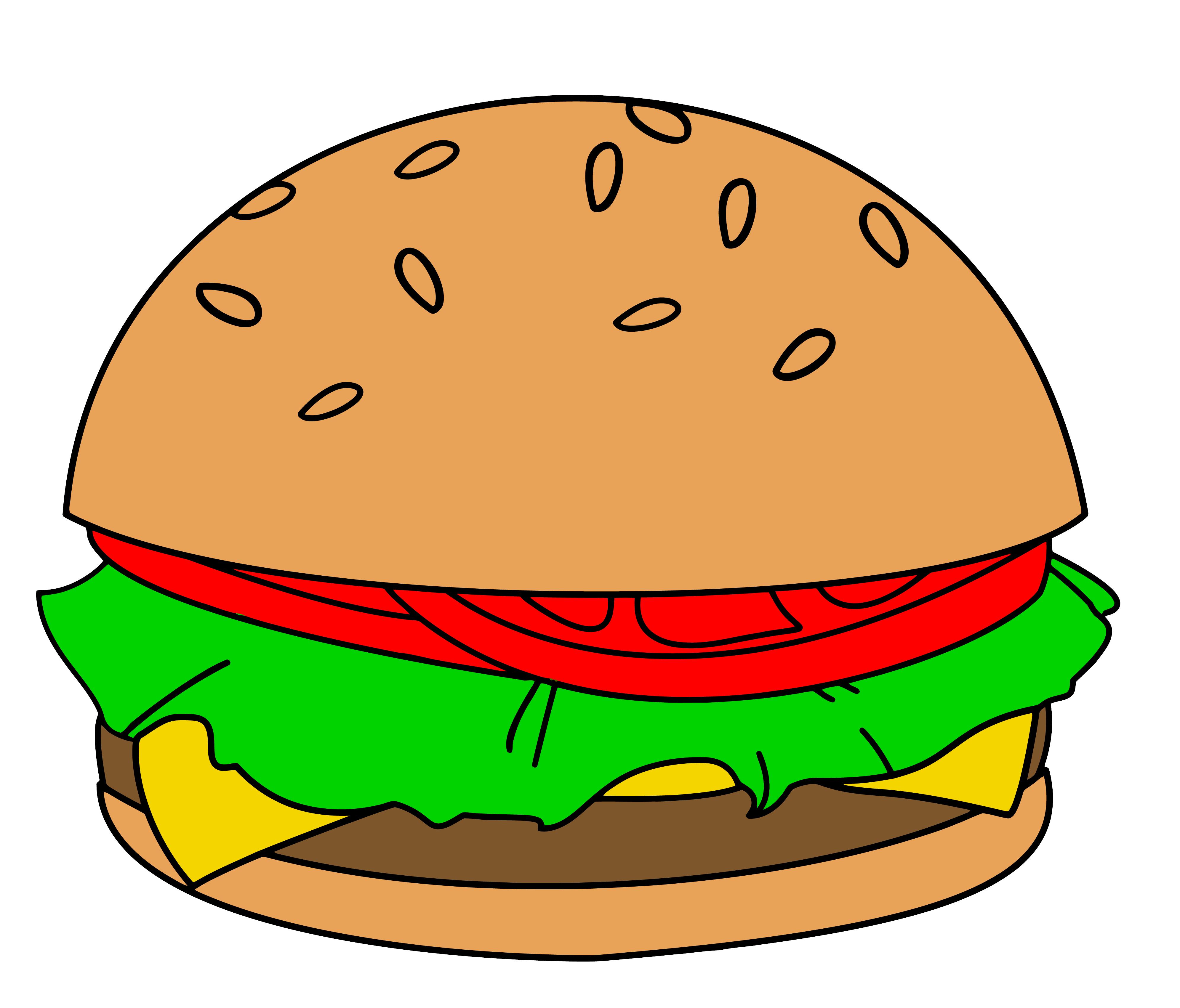 Burger clipart face. Cheeseburger cute clipartfest jpeg
