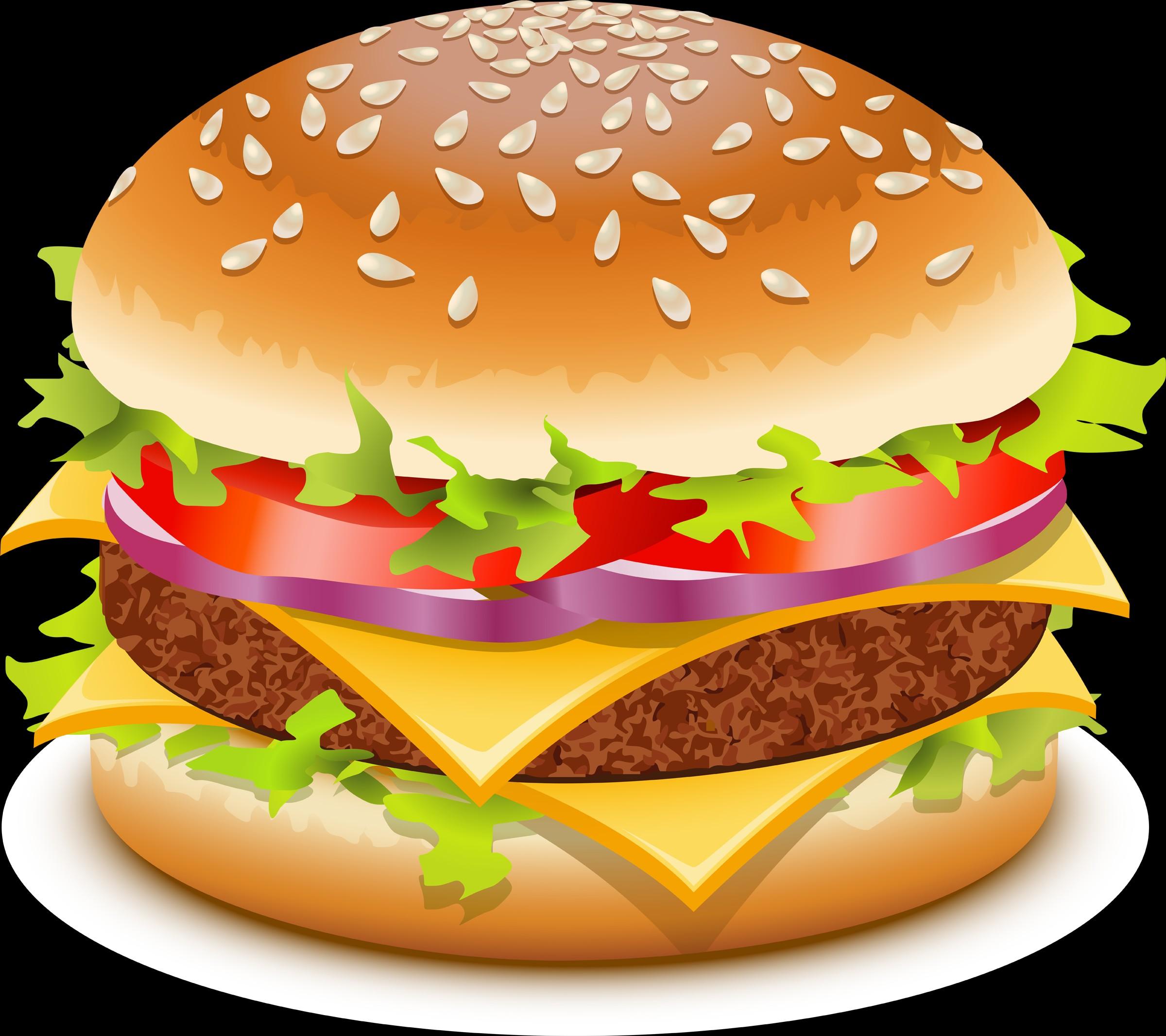 Burger clipart face. Hamburger cartoon image clip