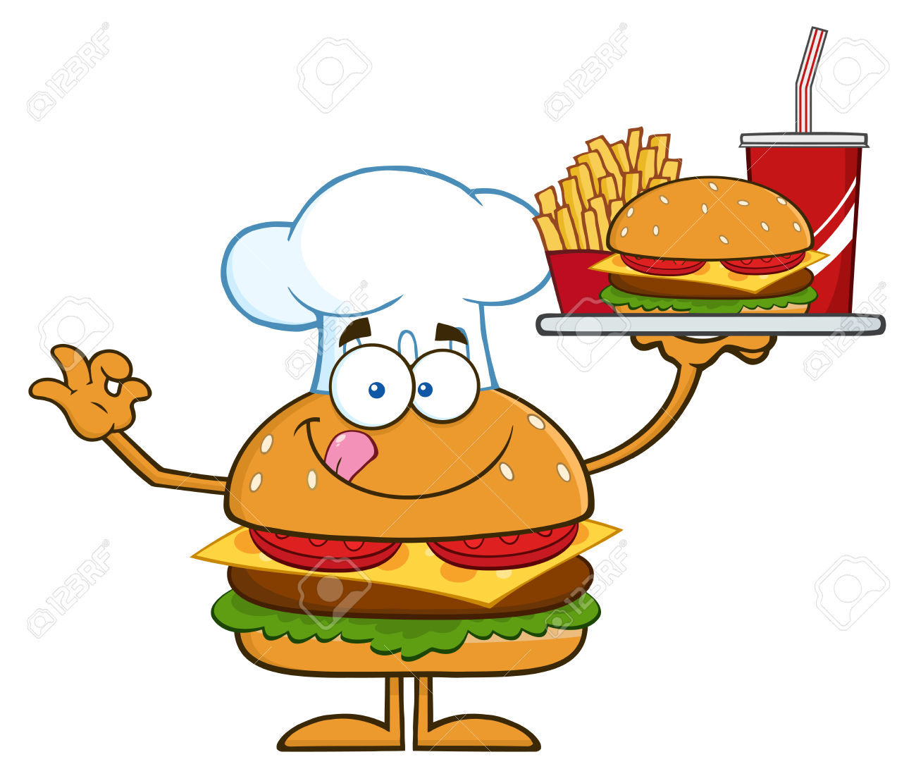 Hamburger platter pencil and. Burger clipart face