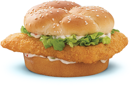 Fast food fry friday. Burger clipart fish