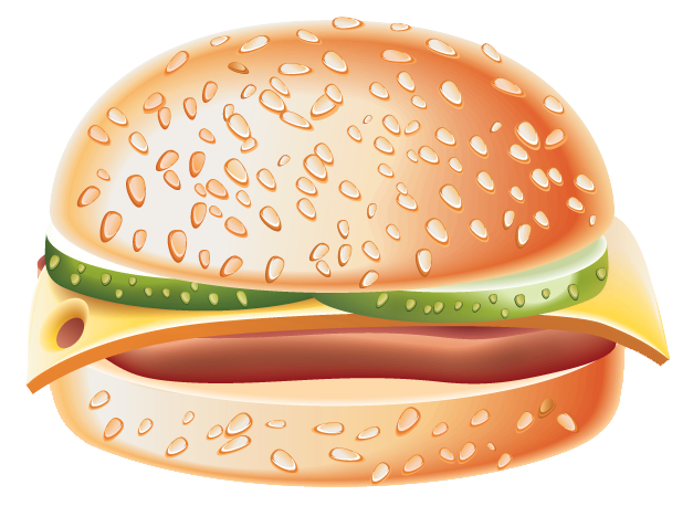 Burger clipart frame. Png gallery yopriceville high