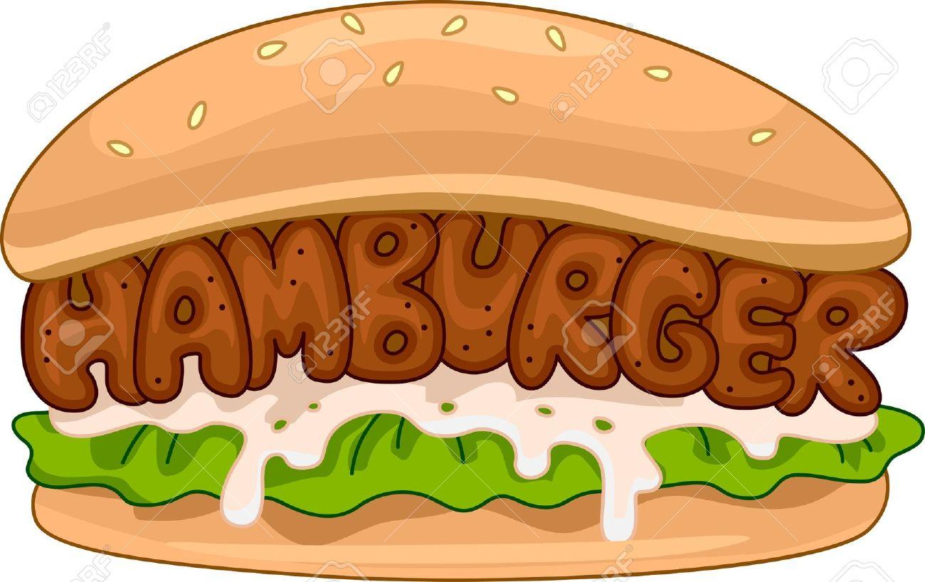 Burger clipart hambuger. Clip art fans jpg