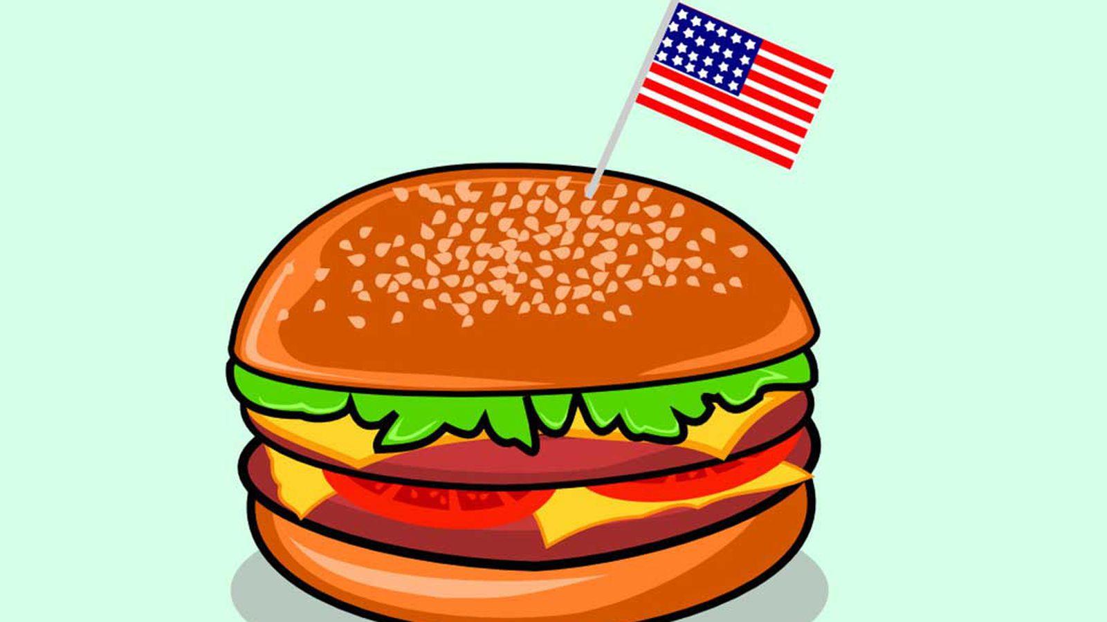 Hamburger clipart american burger. The average price of