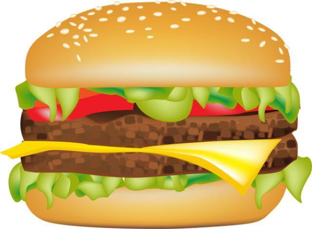 Burger clipart hamburger.  best clip art