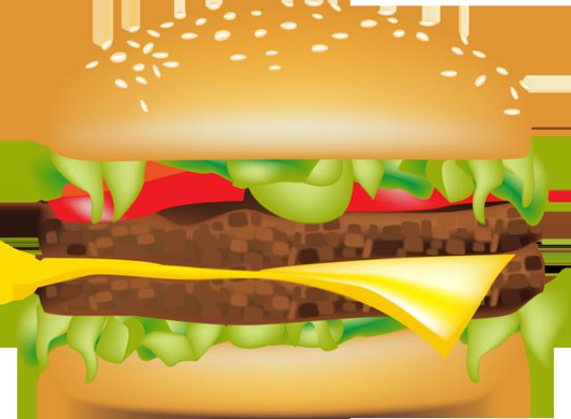 Graphic design clip art. Burger clipart hamburger