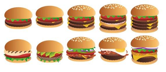Burger clipart hamburger. Cheeseburger clip art
