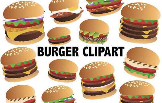 Cheeseburger clip art food. Burger clipart hamburger
