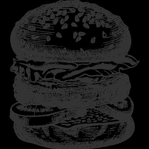 Burger Clipart Line Drawing Burger Line Drawing Transparent Free For Download On Webstockreview 2020