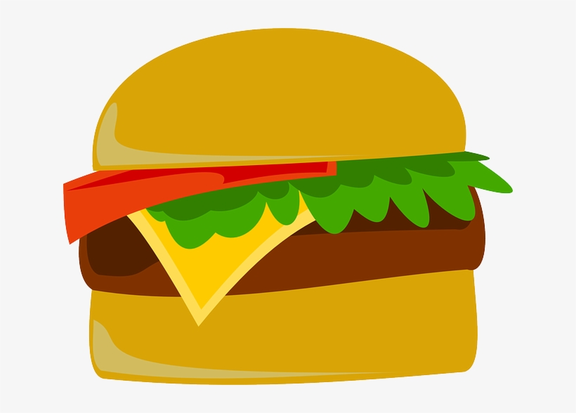 Hamburger pop art transparent. Burger clipart logo