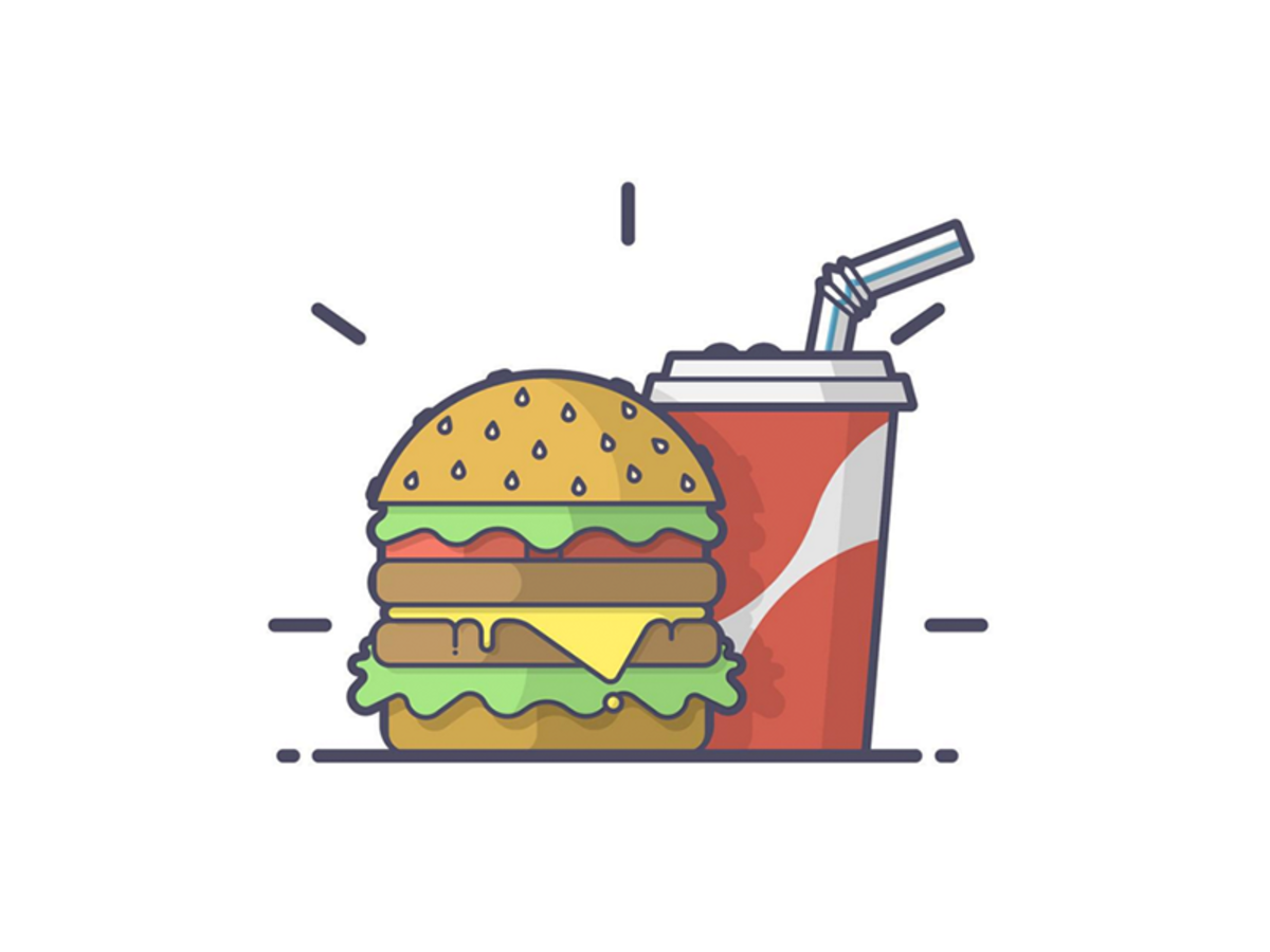 Burger clipart logo.  inspiring designs burgers