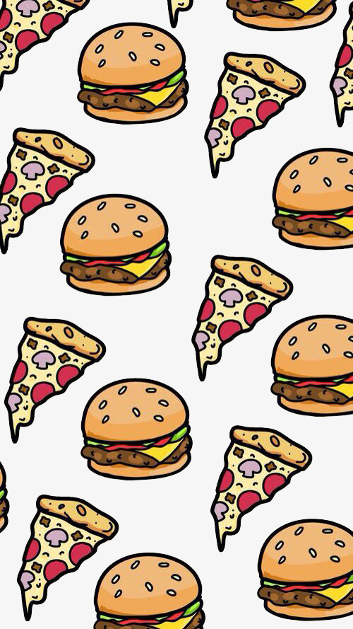 And background fast food. Burger clipart pizza burger
