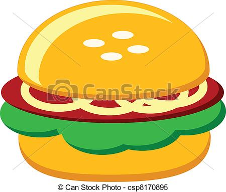 Burger clipart silhouette. At getdrawings com free