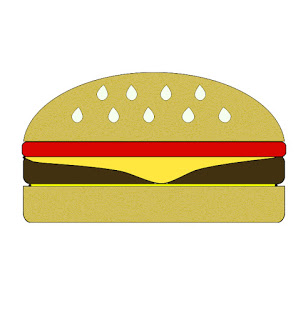 Hamburger at getdrawings com. Burger clipart silhouette
