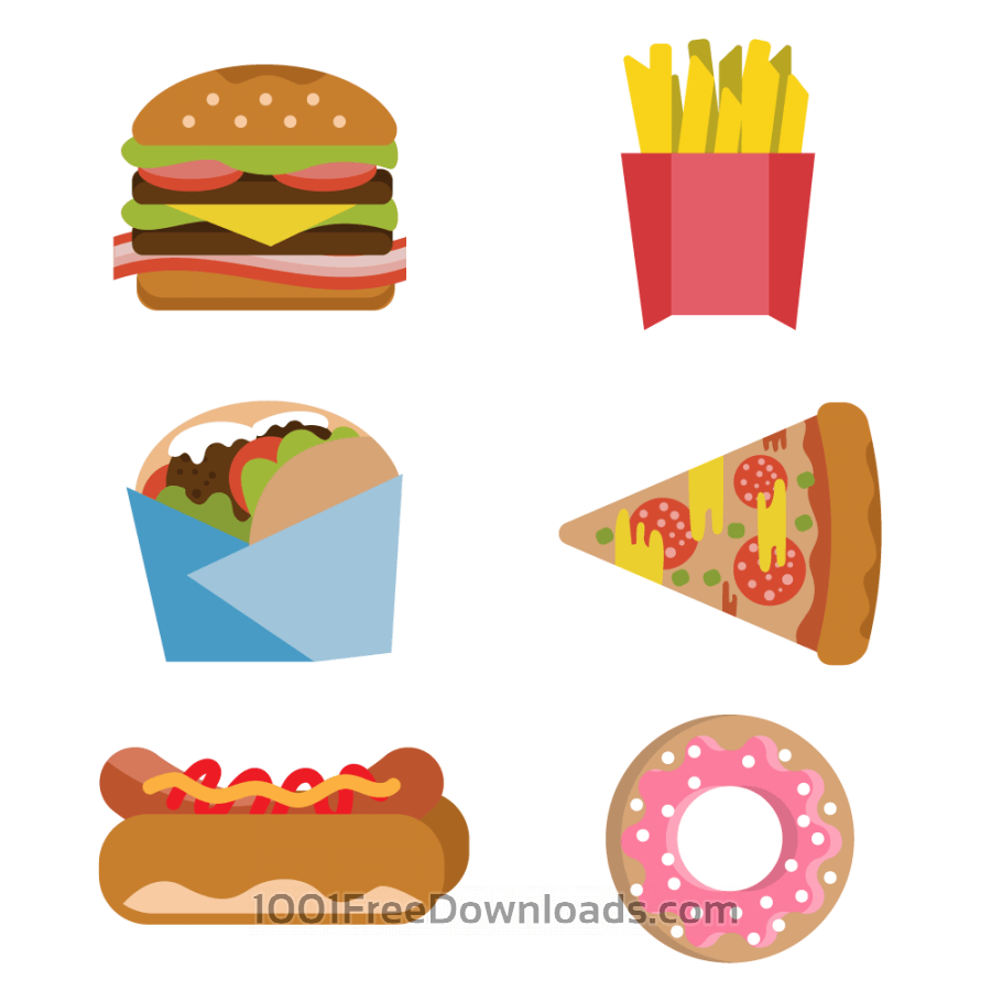 Burger clipart silhouette. Hot dog at getdrawings