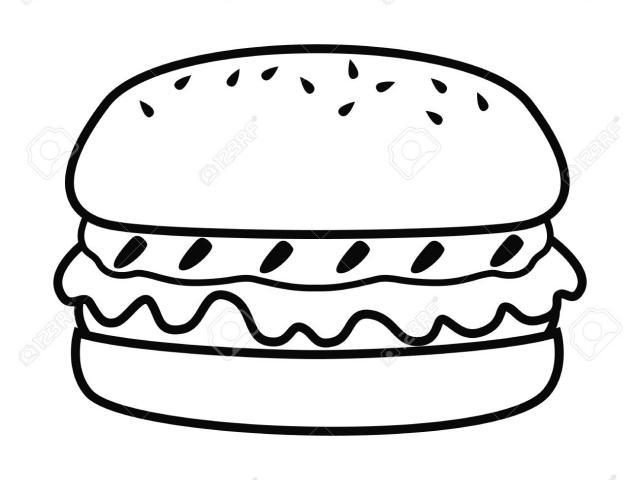 Burger clipart simple. Free abundance download clip