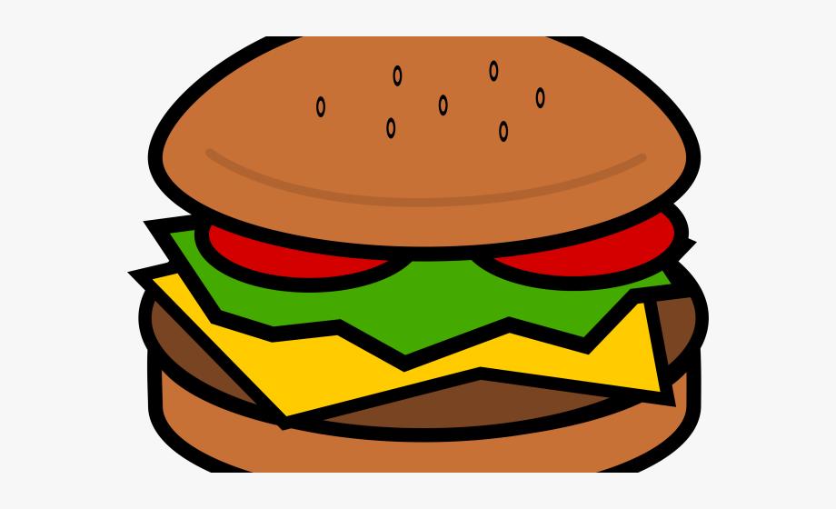 Burger clipart simple. Hamburgers huge hamburger clip