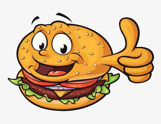 Burger clipart smiley face. Thumbs hamburg gourmet burgers