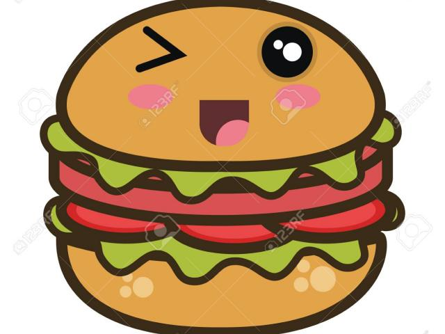 Burger clipart smiley face. Veggie free on dumielauxepices